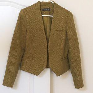 Olive green blazer